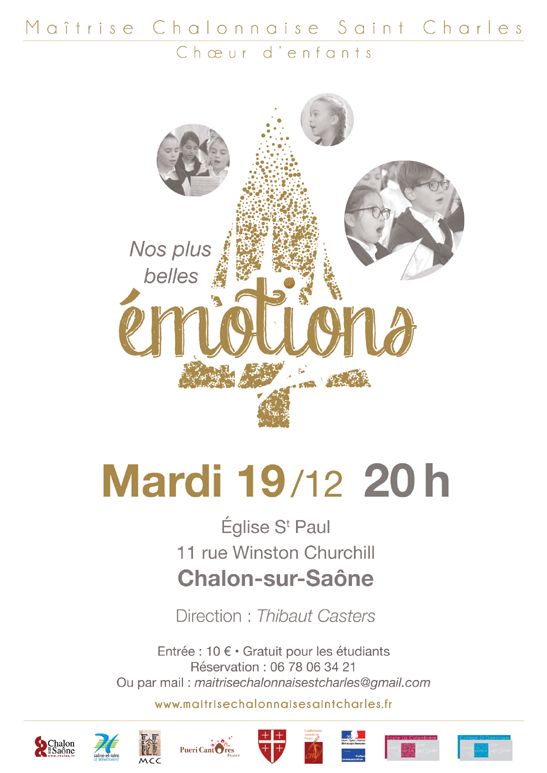 Concert emotions noel2017